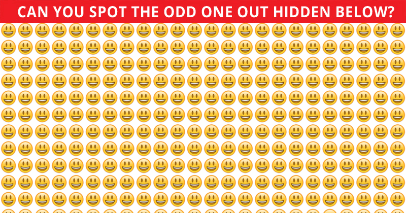 Only 15 People Have Passed This Odd One Out Visual Challenge So Far! Will You?