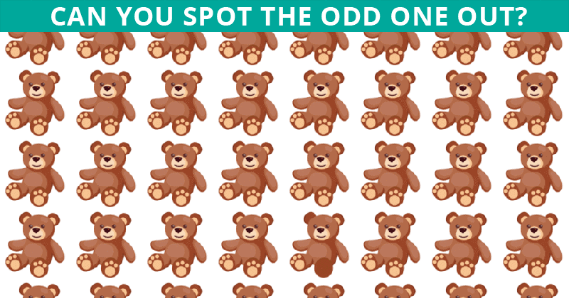 This Odd One Out Visual Puzzle Will Determine Your Visual Perception Abilities In Less Than 60 Seconds