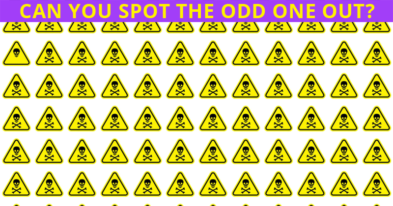 Only 1 In 30 Sharp-Eyed People Can Achieve 100% In This Tough Odd One Out Visual Game. How About You?