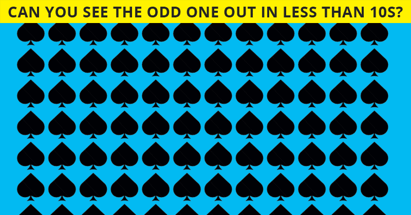 Only People With A High IQ Will Be Able To Best This Odd One Out Visual Puzzle! How About You?