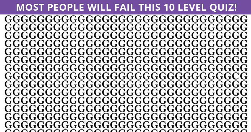 Only 1 In 30 People Can Achieve 100% In This Tough Odd One Out Visual Challenge. How About You?