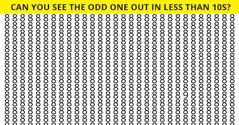 Only The Sharpest Eyes Can Ace This Tough Visual Perception Test!