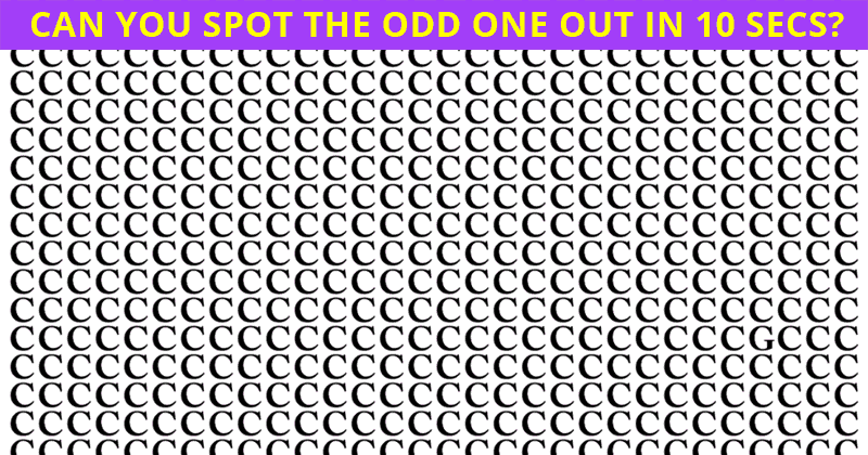 You're Probably A Genius If You Can Get 10/10 In This Tricky Visual Test