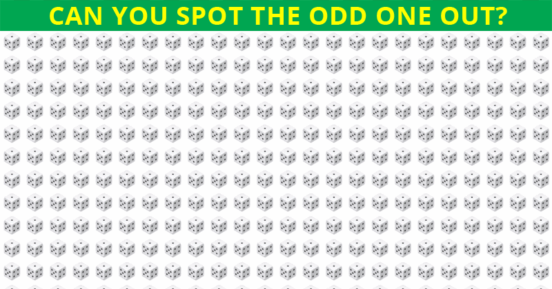 Almost No One Can Ace This Difficult Odd One Out Visual Test. How About You?