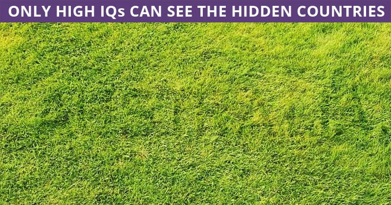 Only 1 In 30 Sharp-Eyed People Can Beat This Tough Hidden Country Visual Challenge. How About You?