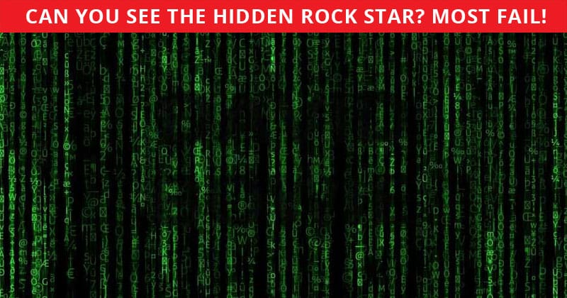 Only 1 In 30 Sharp-Eyed People Can Beat This Hidden Rock Stars Quiz