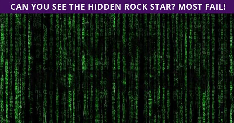 Only 1 In 30 Sharp-Eyed People Can Ace This Challenging Hidden Rock Stars Visual Game. How About You?