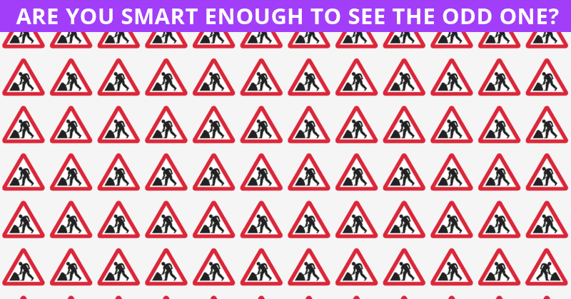 Only Special Few People Can Achieve 100% In This Challenging Odd One Out Visual Game. How About You?