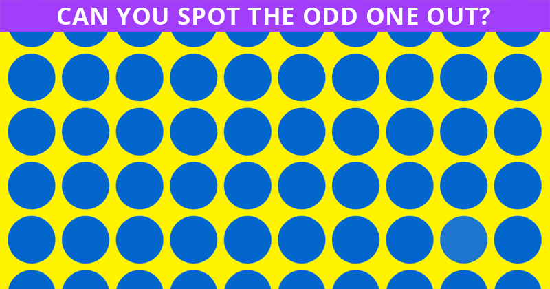 If You Can Pass This Visual Dot Test in 30 Seconds, You Have Unique Eyesight!