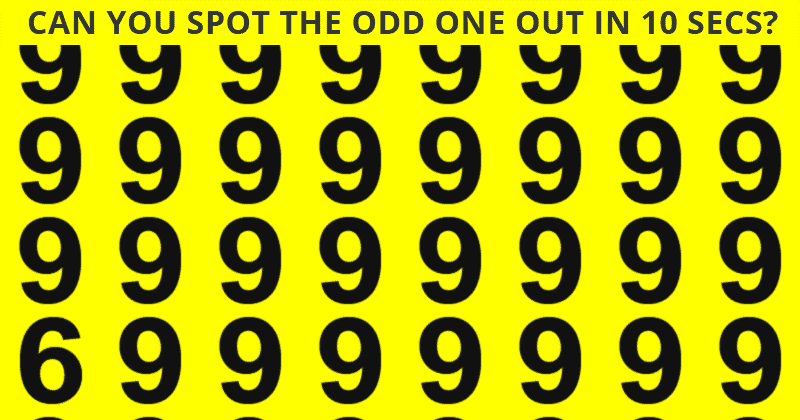 Only 8% Of People Can Achieve 100% In This Challenging Odd One Out Visual Test. How About You?