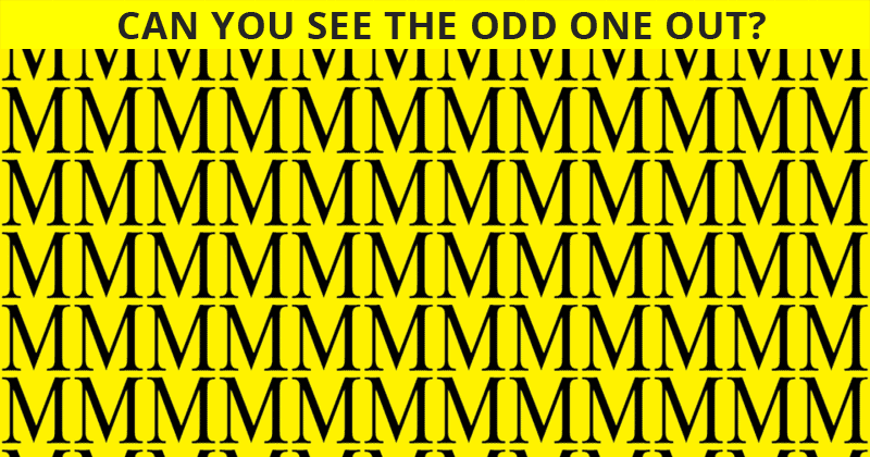 Only People With A High IQ Will Be Able To Best This Odd One Out Visual Challenge! Can You?