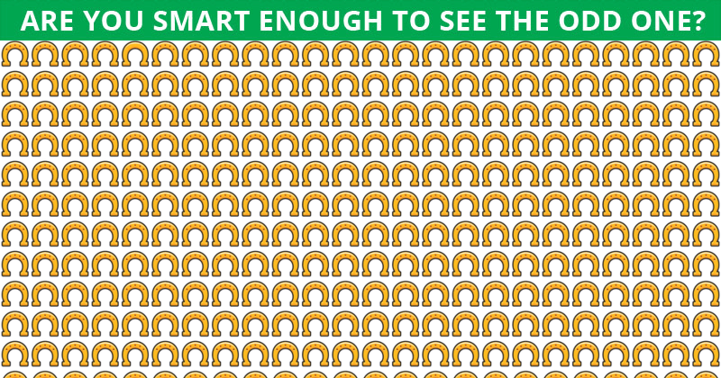 This Odd One Out Visual Quiz Will Determine The Sharpness Of Your Eyesight In Less Than 60 Seconds