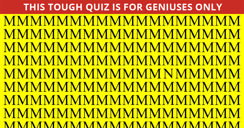 This Odd One Out Visual Puzzle Will Determine Your Visual Perception In 60 Seconds